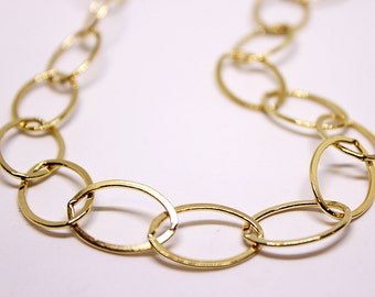 Gold Filled Large Link Chain CGF-