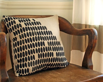 Diagonal Dot Pillow
