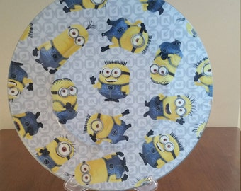 "Minions 10"" Round Plate"