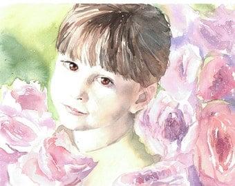 Custom Children Portrait