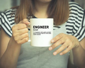 Engineer Mug, Coffee Mug, Engineer Gift, Funny Mug, Engineer Gifts, Mug, Engineer, Funny Coffee Mugs, Gifts For Engineers, Graduation Gift