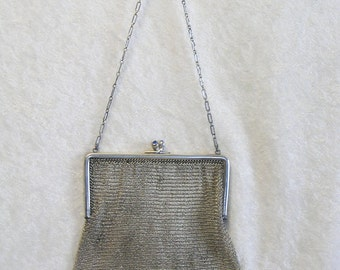 Early Whiting & Davis Fine Mesh Purse