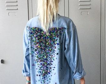 Eliza - Miss Billy Denim Shirt