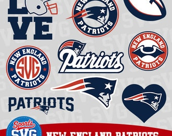 NEW ENGLAND PATRIOTS svg files, Silhouette files, CriCut, Vector files, Sports