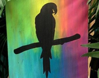 Parrot Silhouette/Parrot Art