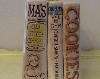 Bookworm Cookie Jar