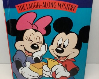 Disney's Laugh Along Mystery Book 1997 From The Read and Grow Library Volume 18 Hard Back Good Condition