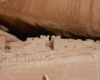 "Native White House Photograph Navajo Canyon de Chelly 12"" x 24"""