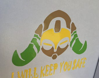 Overwatch Orisa Decal