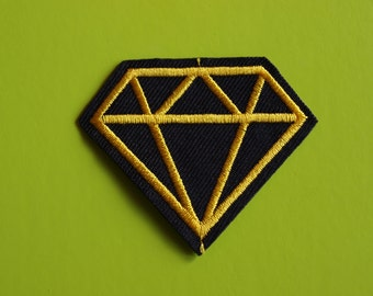 Embroidered Diamond Patch