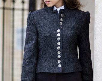 Bovary Jacket in Torridon Tweed