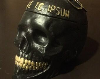 Skull Box Black/gold