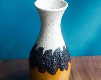 Bay Keramik West German Fat Lava Vase C.1970