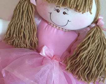 Adorable Customizable Fabric Dolls