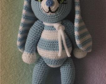 Bunny Toy Blue