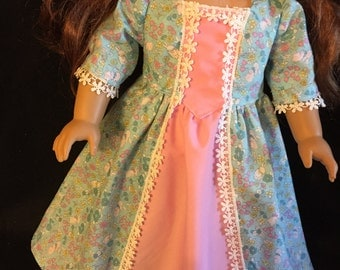 American girl doll long Easter dress