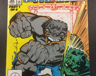The Incredible Hulk # 364 comic by Marvel Comics