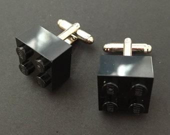 Lego cuff links - Black