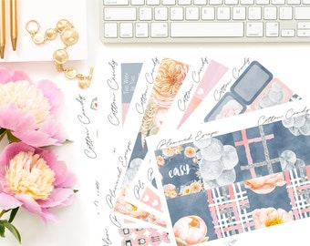 COTTON CANDY Weekly Kit for your Planner