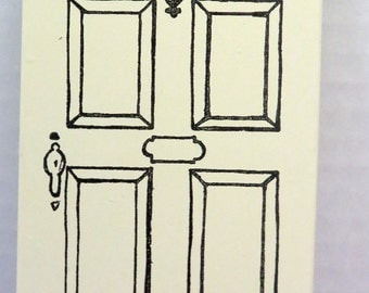 Keystone reproduction doors for dollhouses from the 1950's