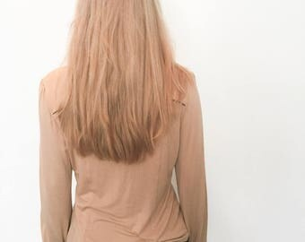 Vintage Camel Shirt, Vintage Button Down Shirt, Women's Vintage Clothing, Vintage Clothing, Vintage Blouse, Vintage Shirt, Women's Clothing