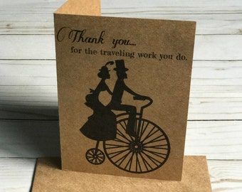 Thank you-Overseer couple-JW greeting cards