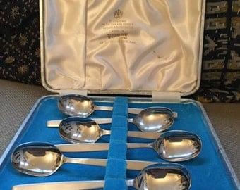 Viners Stainless Steel Tea Spoons. Viners Teaspoons. Flatware. Coffee Spoons