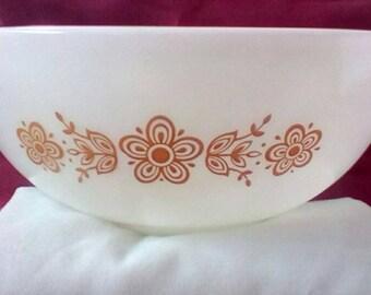 Golden Butterfly Pyrex Bowls (3)