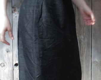 60's Vintage Skirt 100% Silk