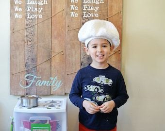 Toddler chef hat!