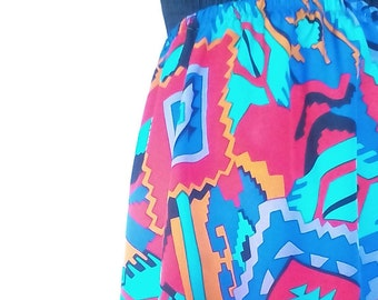 Long Tube Skirt-long skirt, skirt, geometric
