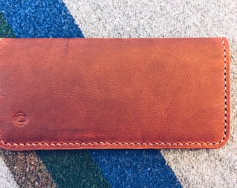 Leather Clutch Wallet