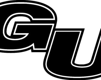 Gonzaga University Vinyl Decal