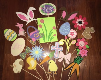Easter PhotoBooth Props