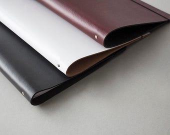A3 Leather Custom Binder Portfolio Album