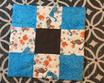 Organic Catnip Blanket. Catnip toy. Catnip mat