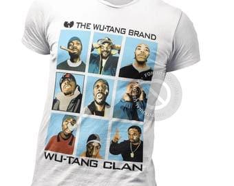 Wu Tang Clan T Shirt - Enter The Wutang Shirt - ODB - RZA - Hip Hop - Rap - Rapper - 36th Chambers - 90s - Old School - Rare = Vintage - Hit
