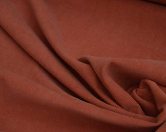 "Corduroy Dark Red Burgundy fabric maroon cotton by the yard, Width: 59"""