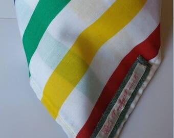Small Striped Tie Dog Bandana