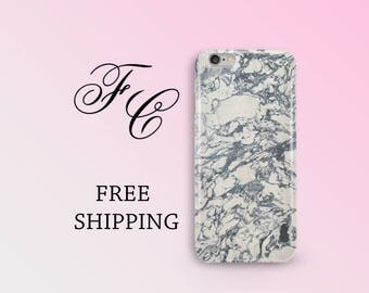 Marble Phone Case Gray Marble iPhone 6 Case Stone iPhone 7 Plus Case Handmade Marble iPhone 7 Case Marble iPhone 6s Case iPhone 5s Case