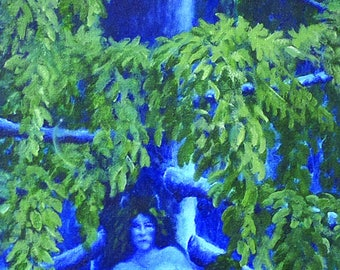 """Painting and Print titled """"Tree Spirit"""""""
