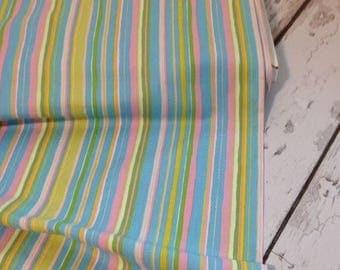 Stripe Twiddlywinks Dena Designs Fabric - Free Spirit Fabric-Quilt Fabric - Nursery Fabric