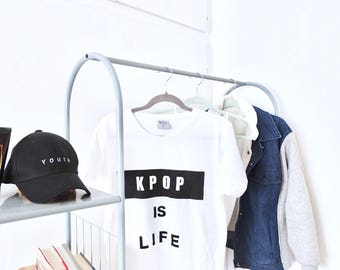 KPOP IS LIFE T-shirt | Inspire Me Korea