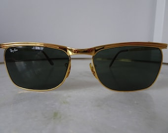 Ray Ban B&L Signet Deluxe Gold