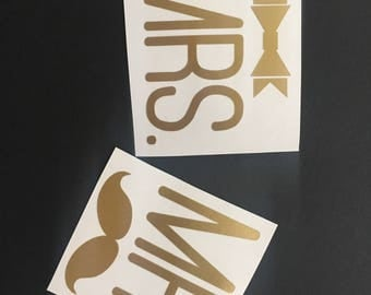 Mr and Mrs Decals