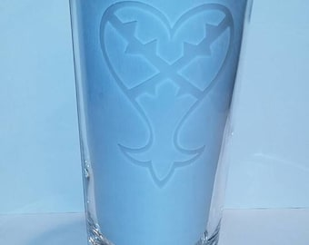 Etched Pint Glasses (Various Designs)