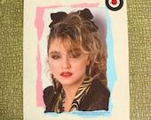 Madonna Desperately Seeking Susan heat press transfer iron on for t-shirts, sweatshirts