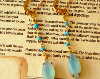 Rosary Chain  Dangle earrings