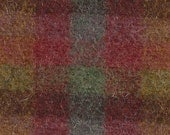 Santa Fe check ~  Wool Fabric for Rug Hooking, Applique, Quilting and more