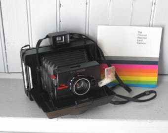The Reporter Polaroid Land Camera with Box and Manual Unused